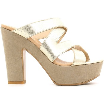 Schuhe Damen Sandalen / Sandaletten Grace Shoes P219TC Sandals Frauen Gold Gold