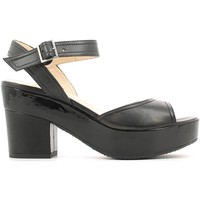 Schuhe Damen Sandalen / Sandaletten Grace Shoes CR76 High heeled sandals Frauen Black