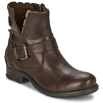 Schuhe Damen Boots Replay SOUP Braun