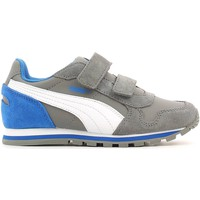 Schuhe Kinder Fitness / Training Puma 359088 Sport shoes Kind Grey Grey