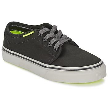 Schuhe Kinder Sneaker Low Vans 106 VULCANIZED Schwarz / Grau / Gelb