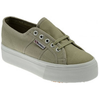 Schuhe Damen Sneaker Low Superga 2790UpandDowncasual Braun