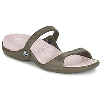 Schuhe Damen Sandalen / Sandaletten Crocs Cleo Schokolade / Candy