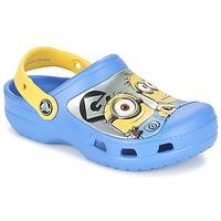 Schuhe Kinder Pantoletten / Clogs Crocs CC Minions Clog Blau / Gelb