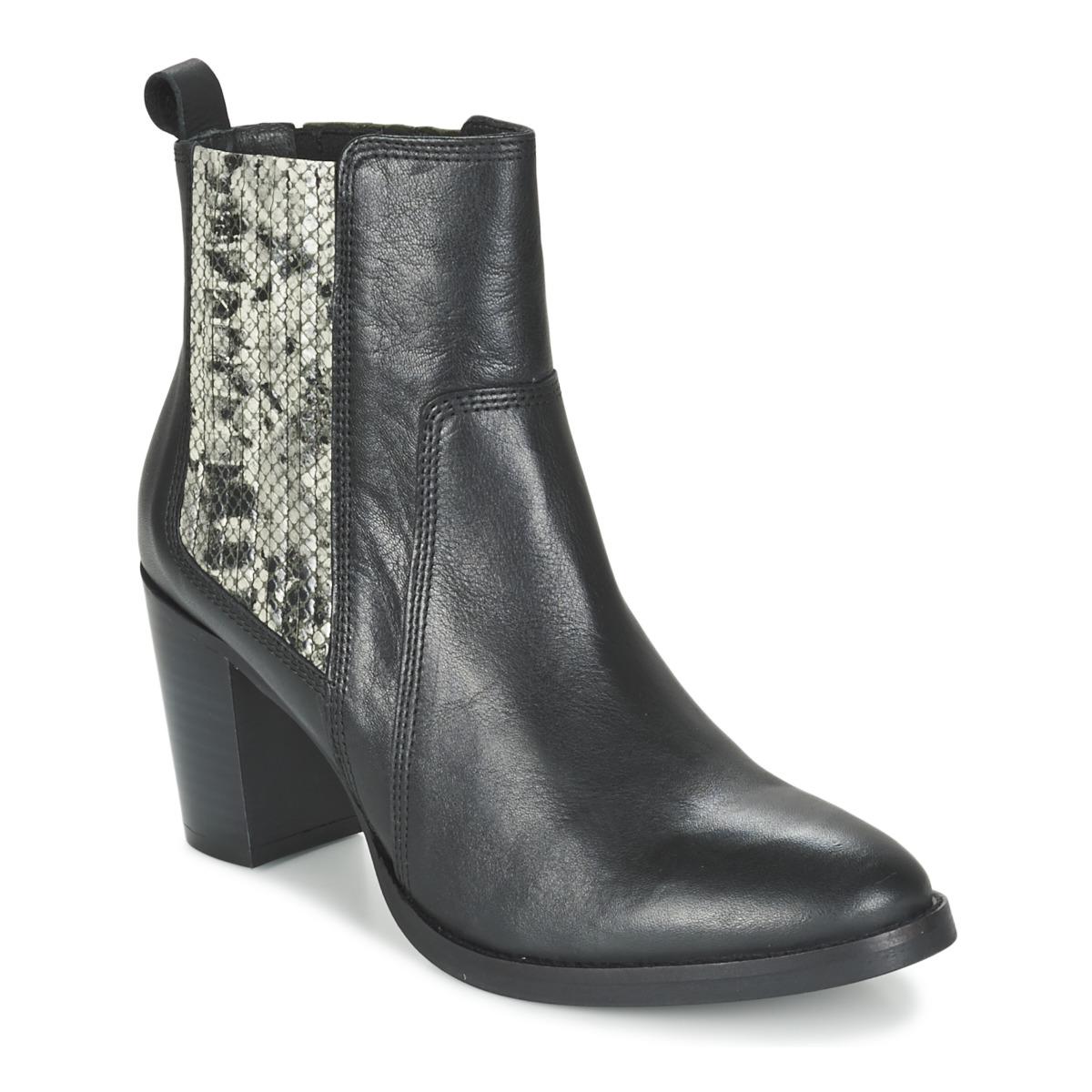 Betty London FLARA Schwarz - Kostenloser Versand bei Spartoode ! - Schuhe Low Boots Damen 59,50 €