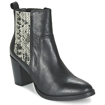 Schuhe Damen Low Boots Betty London FLARA Schwarz