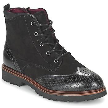 Schuhe Damen Boots Tamaris SOROLA Schwarz