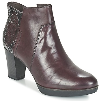 Schuhe Damen Low Boots Tamaris VICHA Bordeaux