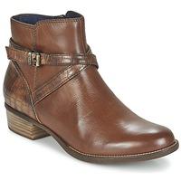 Schuhe Damen Boots Tamaris ISTRA Noisette