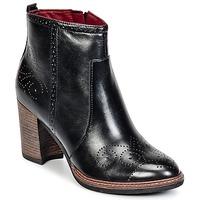 Schuhe Damen Low Boots Tamaris KOLYMA Schwarz