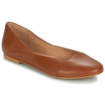 Schuhe Damen Ballerinas Casual Attitude TOBALO Braun