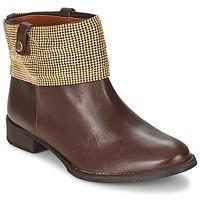 Schuhe Damen Boots Schutz WAIPOHI Braun