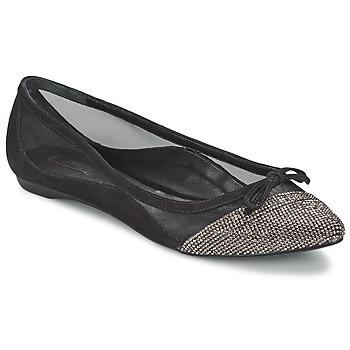 Schuhe Damen Ballerinas Schutz KANI Schwarz