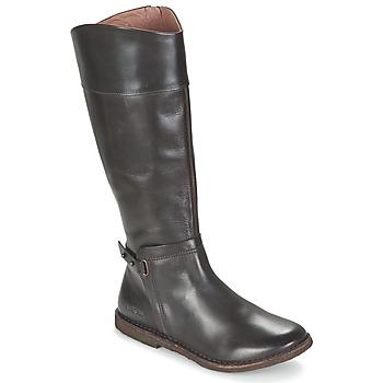 Schuhe Damen Klassische Stiefel Kickers CRICK Braun