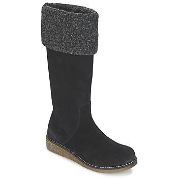 Schuhe Damen Klassische Stiefel Kickers KARINE Schwarz