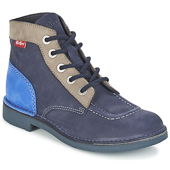 Schuhe Damen Boots Kickers KICK COL Marine