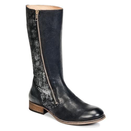 Kickers PENNYHO Schwarz / Leuchtend Schuhe Klassische Stiefel Damen 89,50