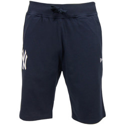 Kleidung Herren Shorts / Bermudas New Era MLB New York Yankees Jersey Short Blau