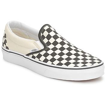 Schuhe Slip on Vans CLASSIC SLIP ON Schwarz / Naturfarben