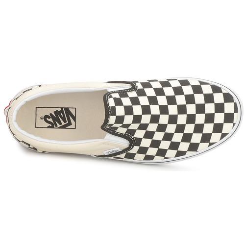 Vans CLASSIC SLIP Schwarz ON Schwarz SLIP / Weiss  Schuhe Slip on  51,99 05bf24
