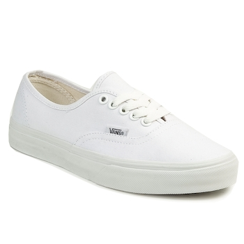 Schuhe Sneaker Low Vans AUTHENTIC Weiss