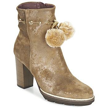 Schuhe Damen Low Boots Fericelli FAHRA Beige