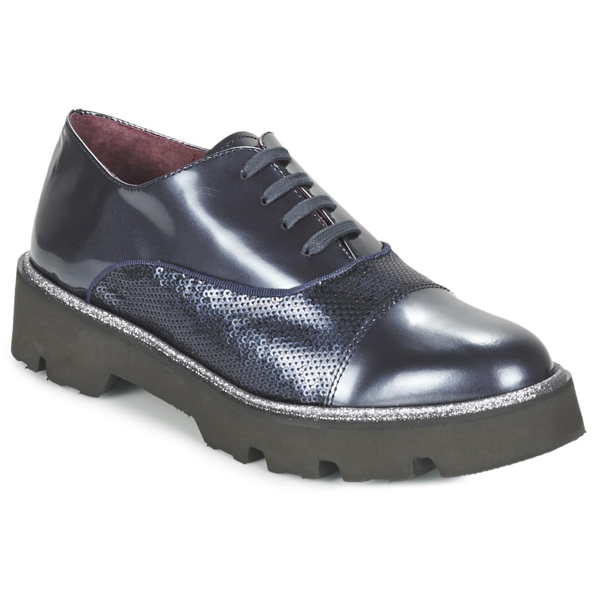 Fericelli FANCHON Marine - Kostenloser Versand bei Spartoode ! - Schuhe Richelieu Damen 101,50 €