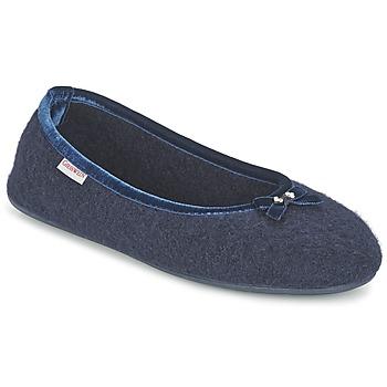 Schuhe Damen Hausschuhe Giesswein HOHENAU Marine