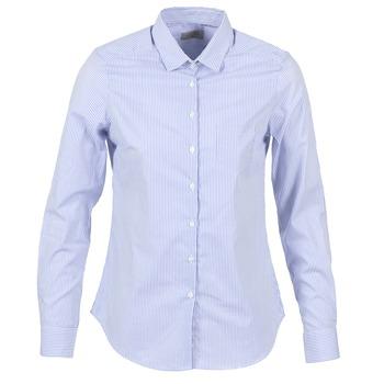 Kleidung Damen Hemden Casual Attitude FANFAN Weiss / Blau