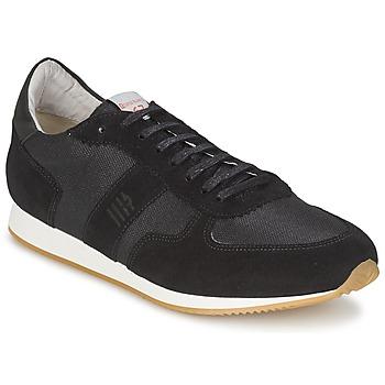 Schuhe Herren Sneaker Low Serge Blanco VARN Schwarz