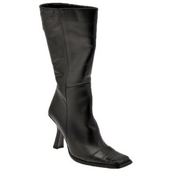 Schuhe Damen Klassische Stiefel Bocci 1926 T.80 Half Zip stiefel Schwarz