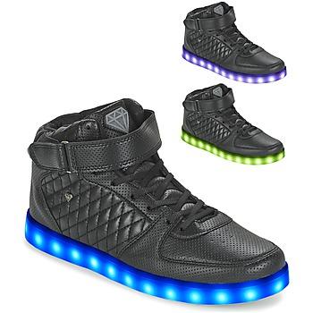Schuhe Herren Sneaker High Cash Money CMS33 LIGHTLORD JAILOR Schwarz