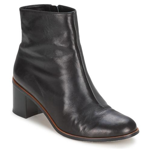 Schuhe Damen Low Boots Robert Clergerie MILLION Schwarz