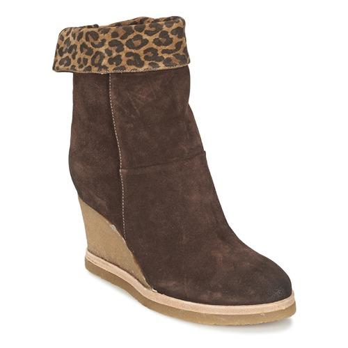 Vic VANCOVER GUEPARDO Braun / Leopard Schuhe Low Boots Damen 103,60