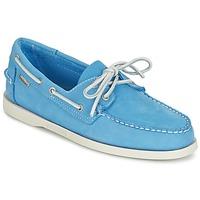 Schuhe Herren Slipper Sebago DOCKSIDES Blau