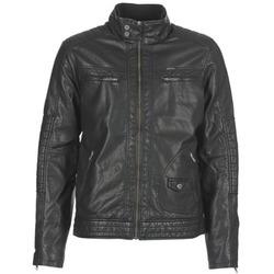 Kleidung Herren Lederjacken / Kunstlederjacken Petrol Industries VESTE JAC150 Schwarz