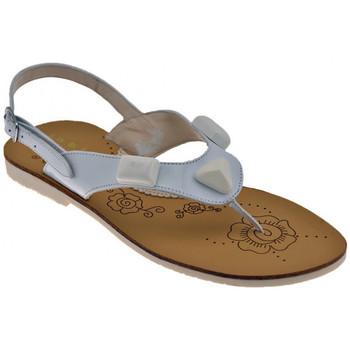 Schuhe Mädchen Sandalen / Sandaletten Inblu Stones sandale Weiss