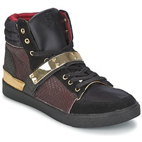 Schuhe Damen Sneaker High SuperTrash GOLDY Bordeaux