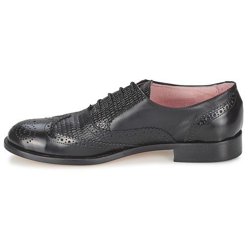 Elia B SPECTATOR Schwarz Schuhe Richelieu Damen 152