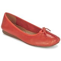 Schuhe Damen Ballerinas Clarks Freckle Orange