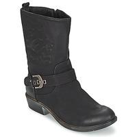 Schuhe Damen Boots Spot on GANIA Schwarz
