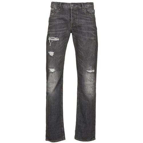 Kleidung Herren Straight Leg Jeans Kaporal AMBROSE Schwarz