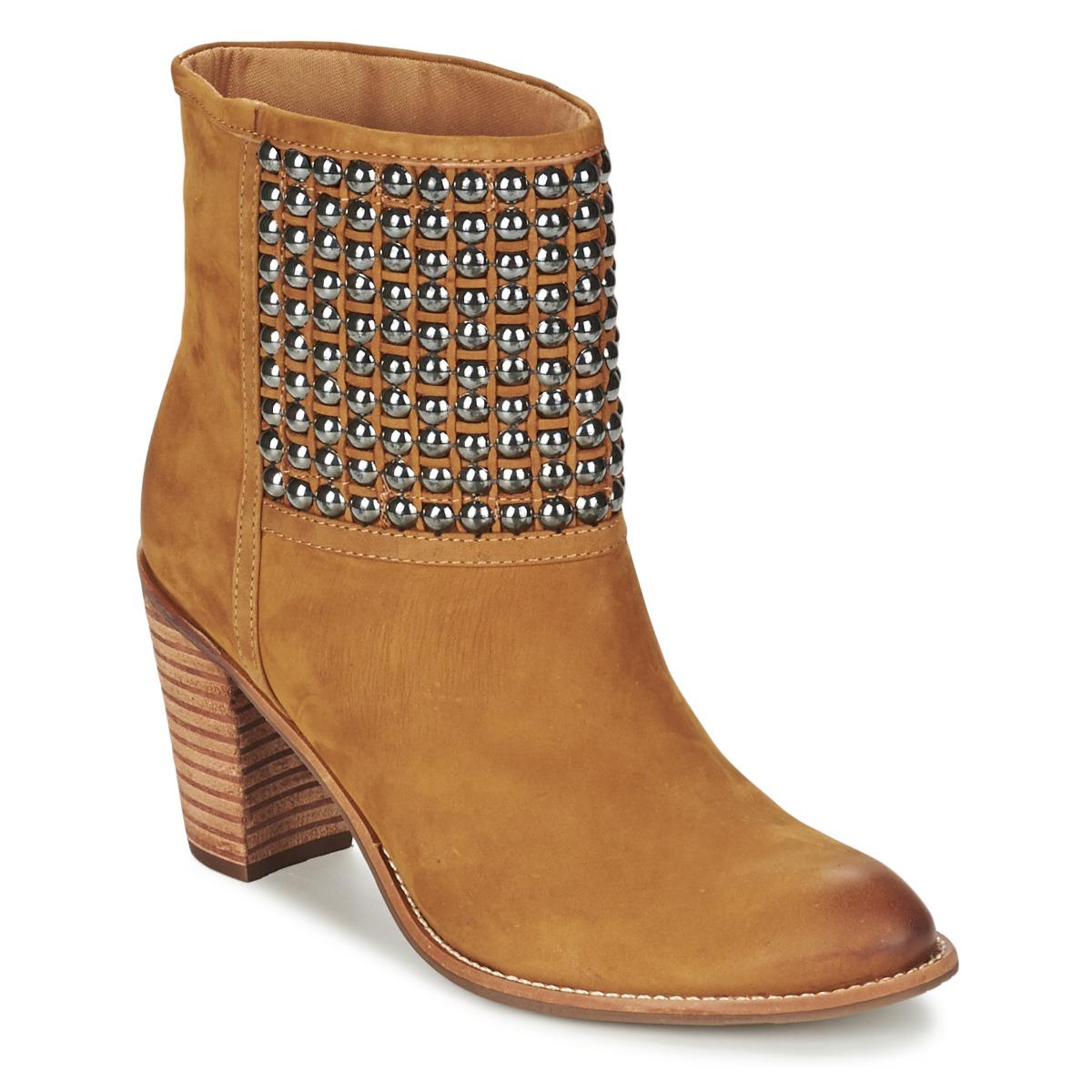 Dumond GUOUZI Braun - Kostenloser Versand bei Spartoode ! - Schuhe Low Boots Damen 84,50 €