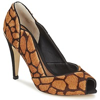 Schuhe Damen Pumps Dumond GUATIL Leopard