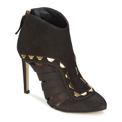 Dumond ELOUNE Schwarz Schuhe Ankle Boots Damen 75