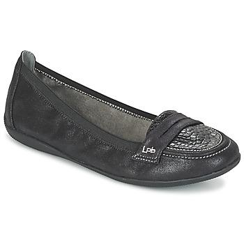 Schuhe Damen Slipper Les P'tites Bombes ALOA Schwarz