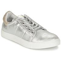 Schuhe Damen Sneaker Low Les P'tites Bombes BABOU Silbern
