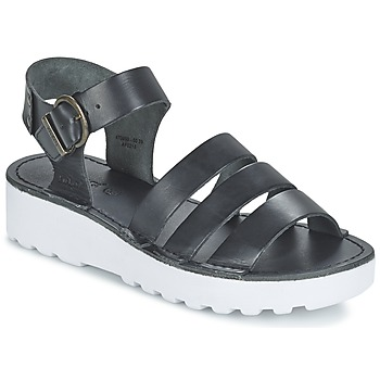 Schuhe Damen Sandalen / Sandaletten Kickers CLIPPER Schwarz
