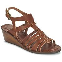Schuhe Damen Sandalen / Sandaletten Kickers FASTA Braun