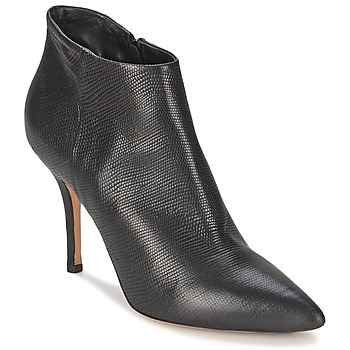 Schuhe Damen Ankle Boots JFK LIZARD Schwarz